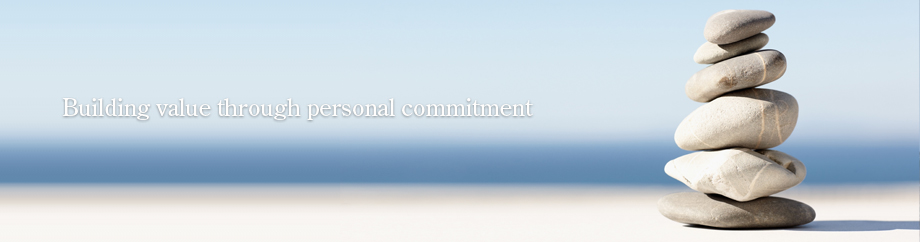 Building value through personal commitment
